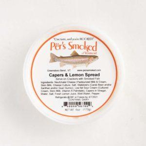 Per's Capers & Lemon Spread in 6oz tub